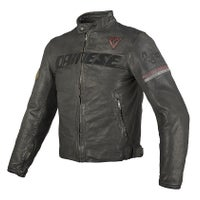 Dainese Archivio Leather Jacket - Black Ago