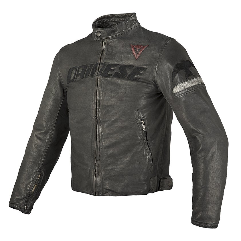 Dainese Archivio Leather Jacket - Black Guy