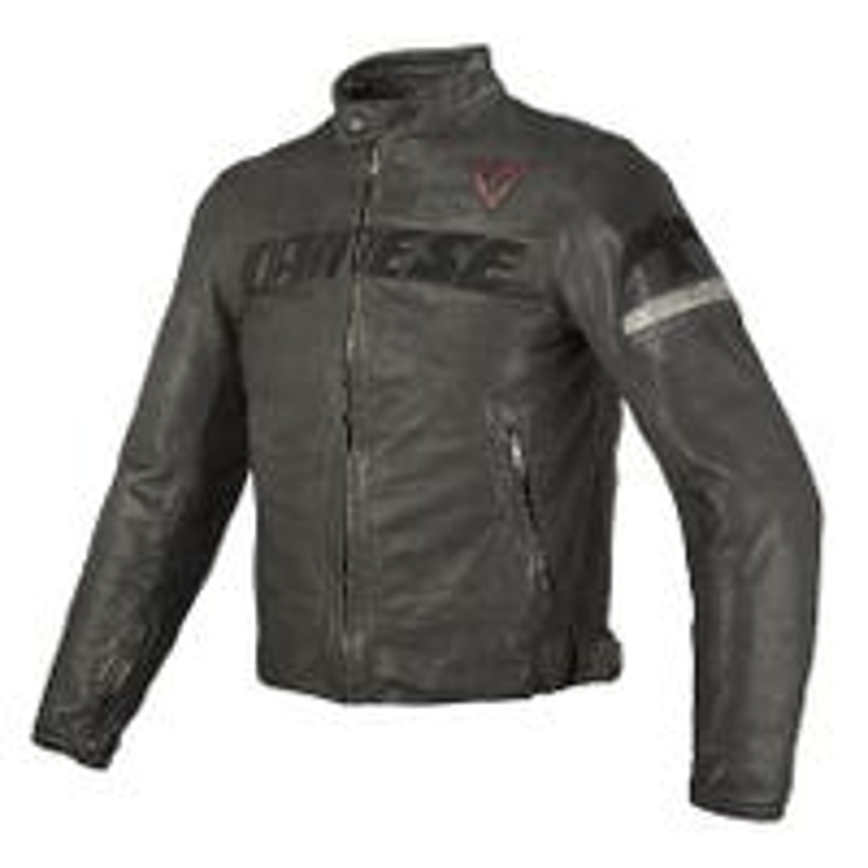 Dainese Archivio Leather Jacket - Black Guy
