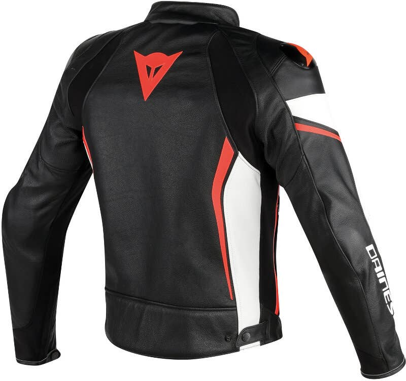 , Red Jet Motorcycle Motorbike Jacket Mens Waterproof Armoured High Performance DAYTONA 42-44 XL