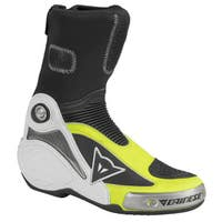 Dainese Axial Pro In Boots - Black / Fluoro Yellow