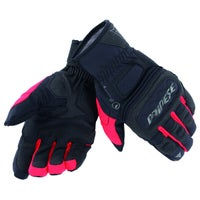 Dainese Clutch Evo D-Dry Waterproof Gloves - Black / Red