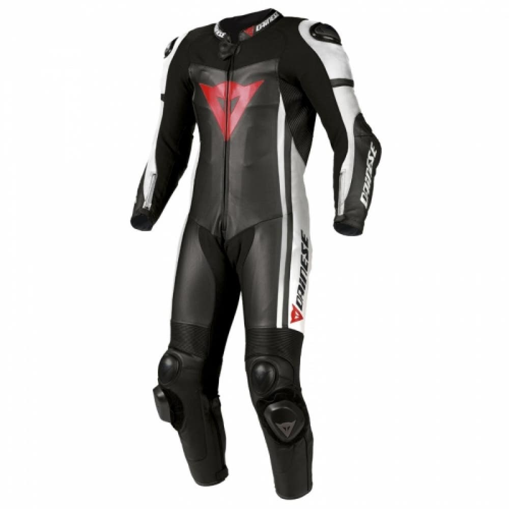 Dainese D-air Race One Piece Leather Suit - Black