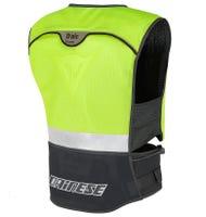 Dainese D-Air Street Body Armour - Black / Fluoro Yellow