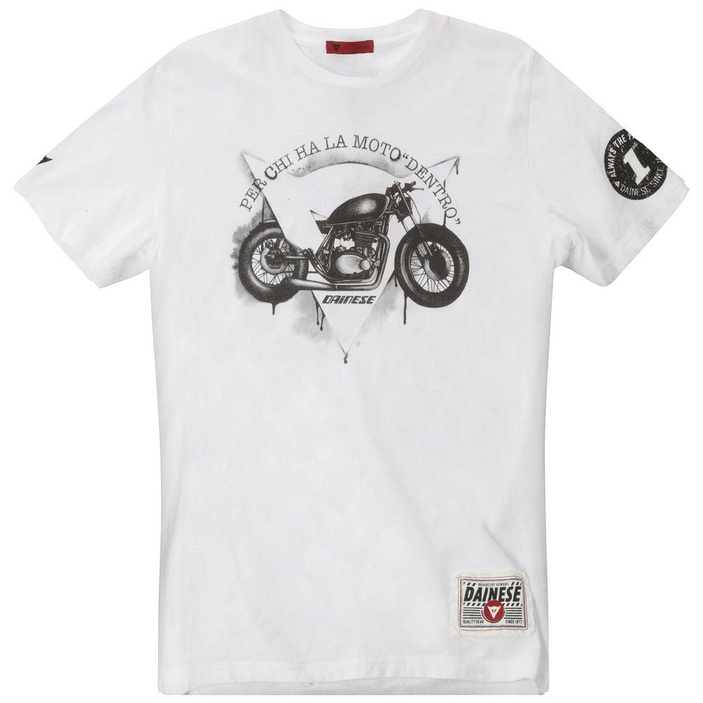 Dainese Dark Custom T-Shirt - White
