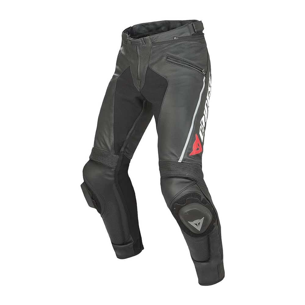Dainese Delta Pro C2 Leather Trousers - Long - Black