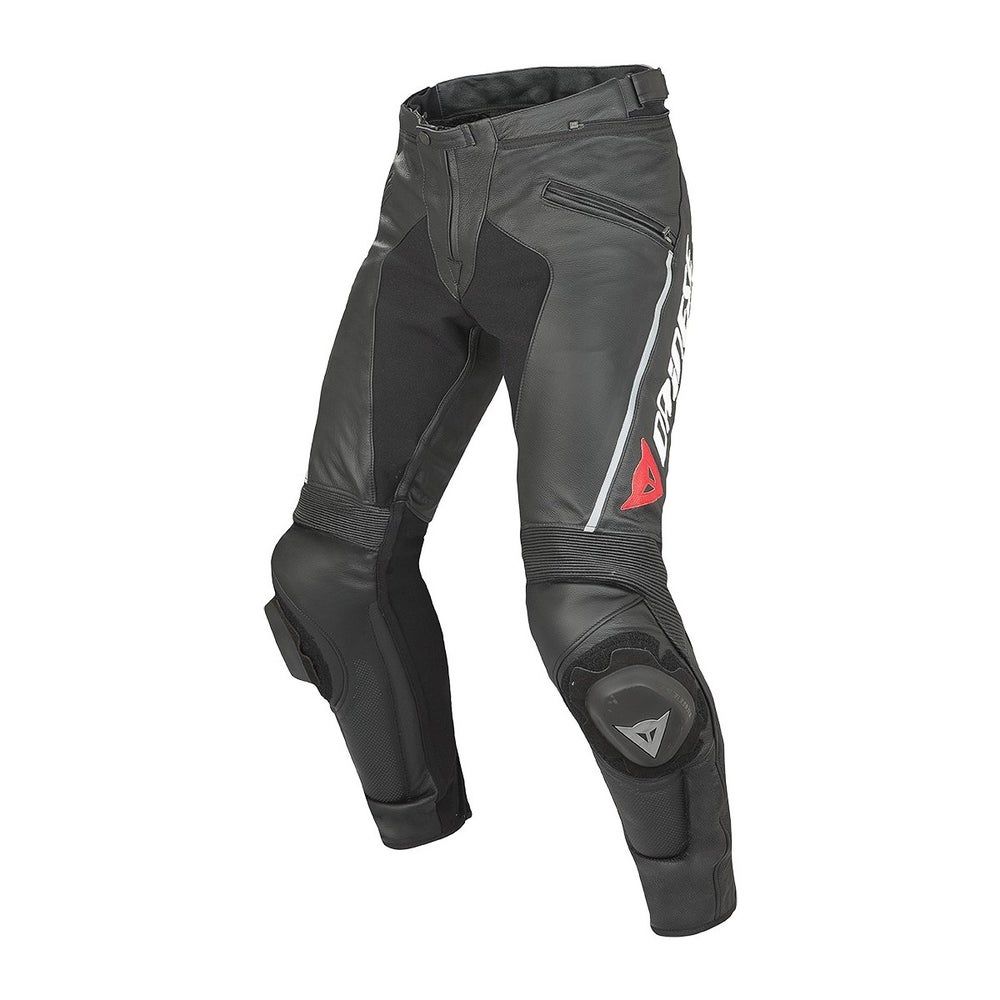 Dainese Delta Pro C2 Leather Trousers - Short - Black