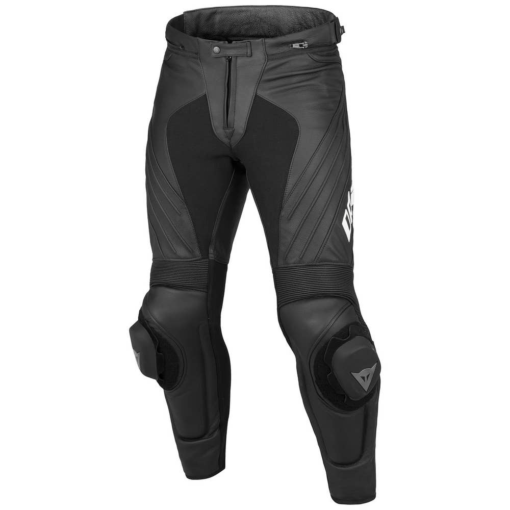 Dainese Delta Pro Evo C2 Leather Trousers - Black