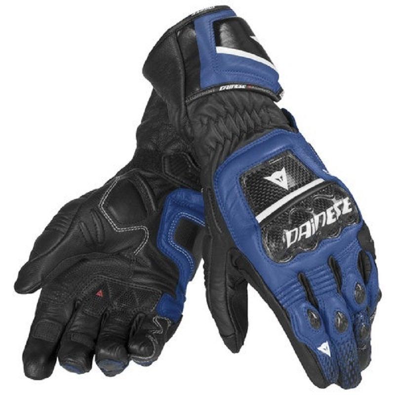 Dainese Druids ST Gloves - Black / White / Blue