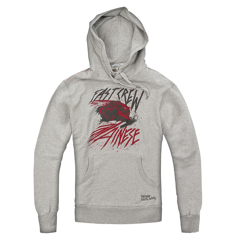 Dainese Fast Crew Hoodie - Grey