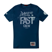 Dainese Fast Crew T-Shirt - Navy Blue