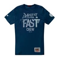 Dainese Fast Crew T-Shirt - Navy Blue