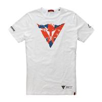 Dainese Flag Sliverstone T-Shirt - White