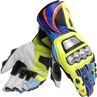 Dainese Full Metal 6 Rossi Replica Leather Gloves