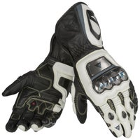 Dainese Full Metal D1 Gloves - Black / White / Anthracite