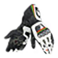 Dainese Full Metal RS Gloves - White / Black / Kawasaki Green