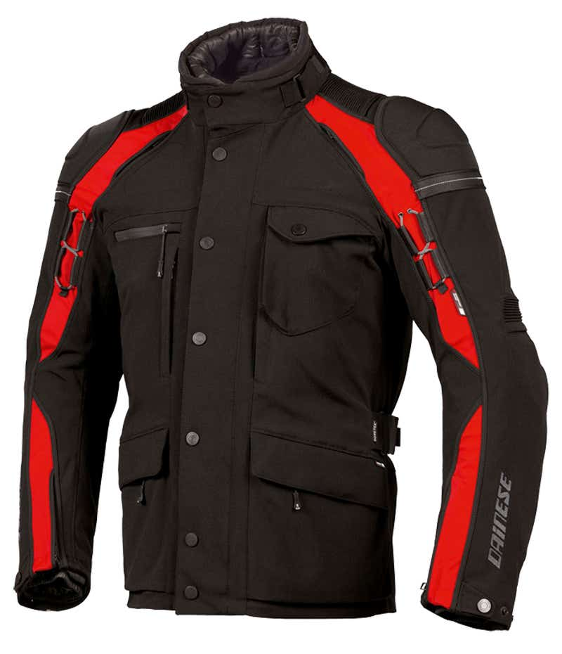 Dainese Gator Evo Gore-Tex Jacket - Black / Red