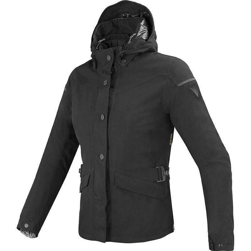 Dainese Ladies' Elysee D-Dry Waterproof Jacket - Black