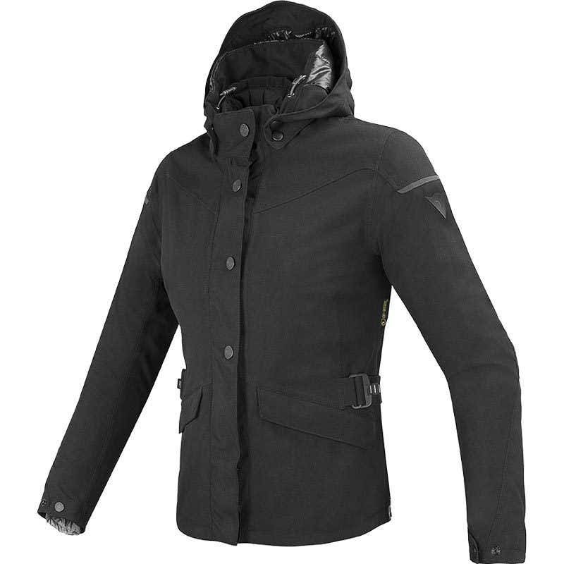 Dainese Ladies' Elysee D-Dry Waterproof Jacket - Black