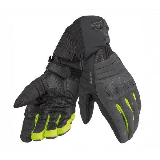 Dainese Ladies' Scout Evo Gore-Tex Gloves - Carbon / Black / Fluoro Yellow
