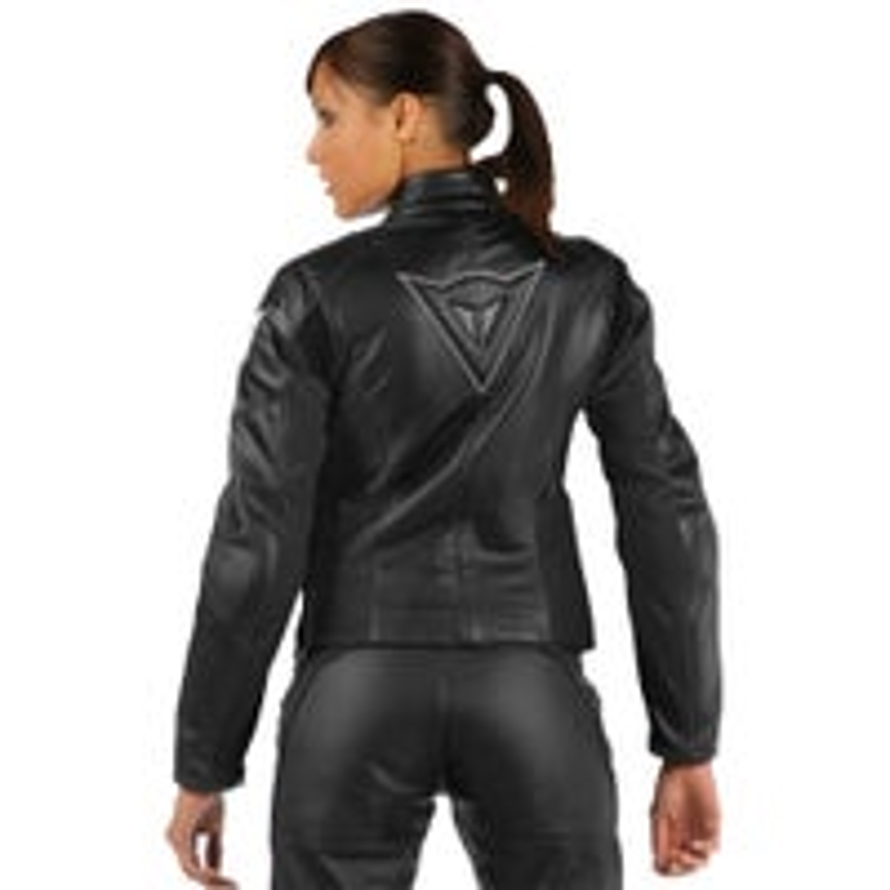 Dainese Ladies' SF Lady Leather Jacket - Black b