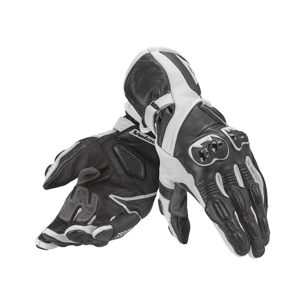 Dainese Ladies' Veloce Gloves - Black / White / Black