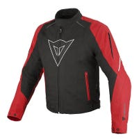 Dainese Laguna Seca D-Dry Waterproof Jacket - Black / Red / White