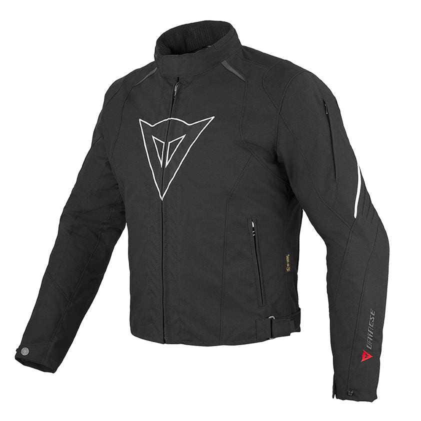 Dainese Laguna Seca D-Dry Waterproof Jacket - Black / White
