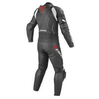 Dainese Laguna Seca Evo Two Piece Leather Suit - Black / Anthracite / White