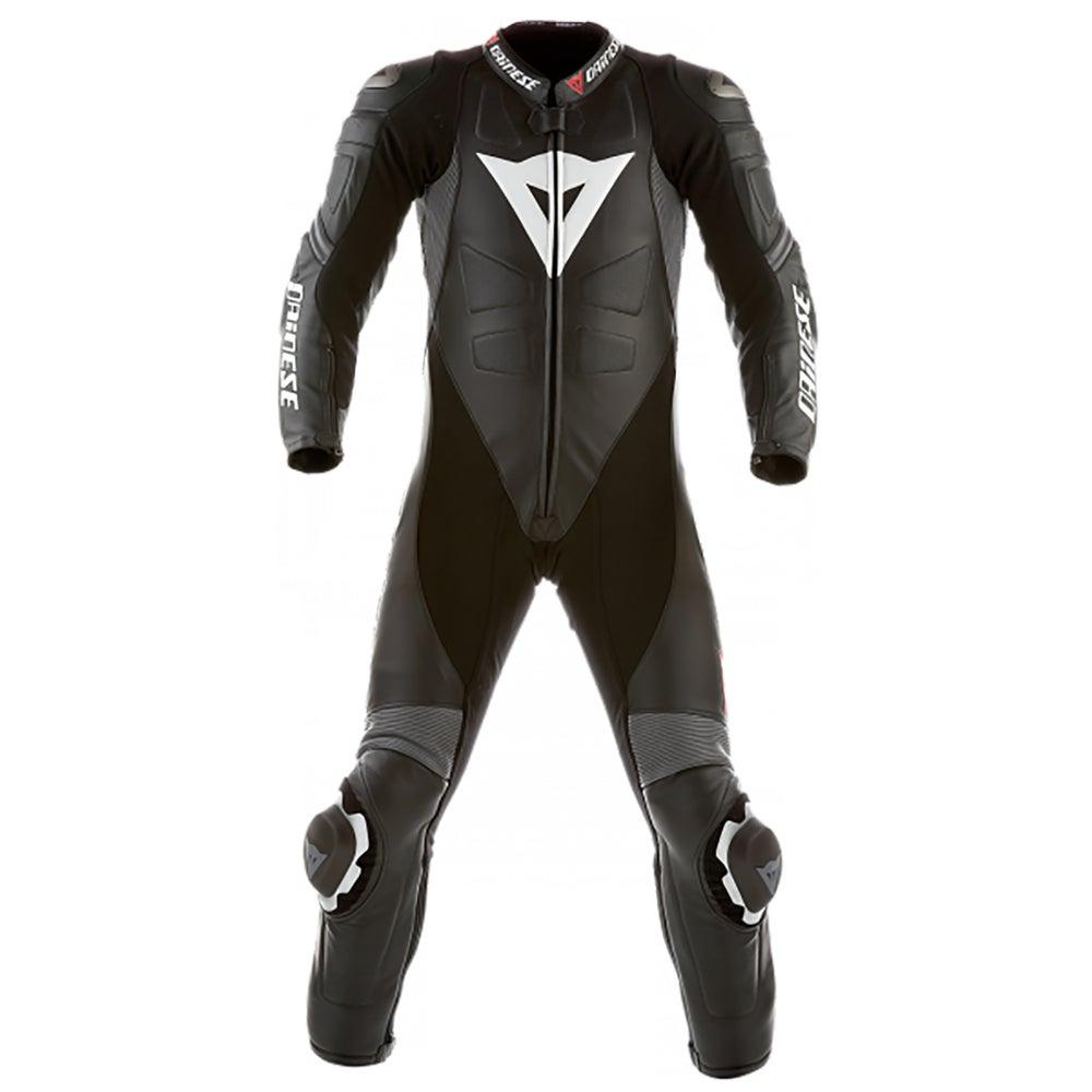 Dainese Laguna Seca One Piece Leather Suit - Black / Magnesium