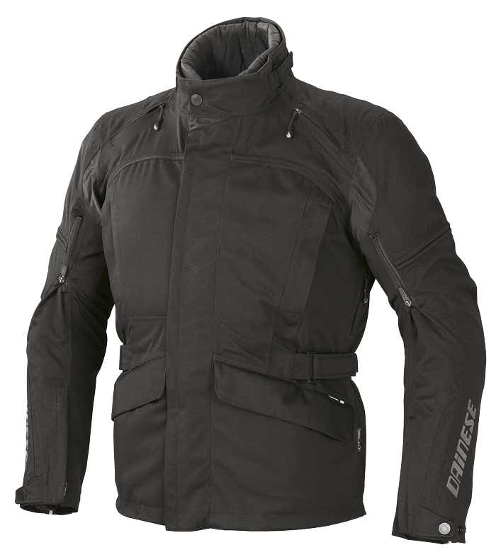 Dainese Marsh D-Dry Waterproof Jacket - Black / Reflex