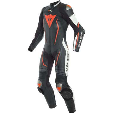 Dainese Ladies' Misano 2 D-Air One Piece Perforated Leather Suit