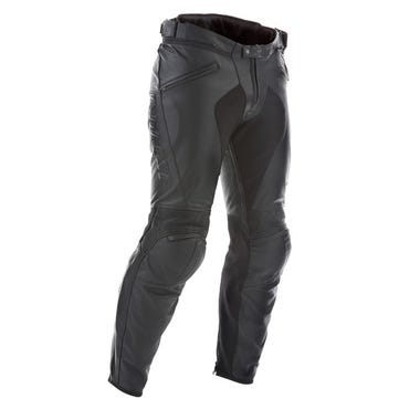 Dainese Pony C2 Leather Trousers - Black
