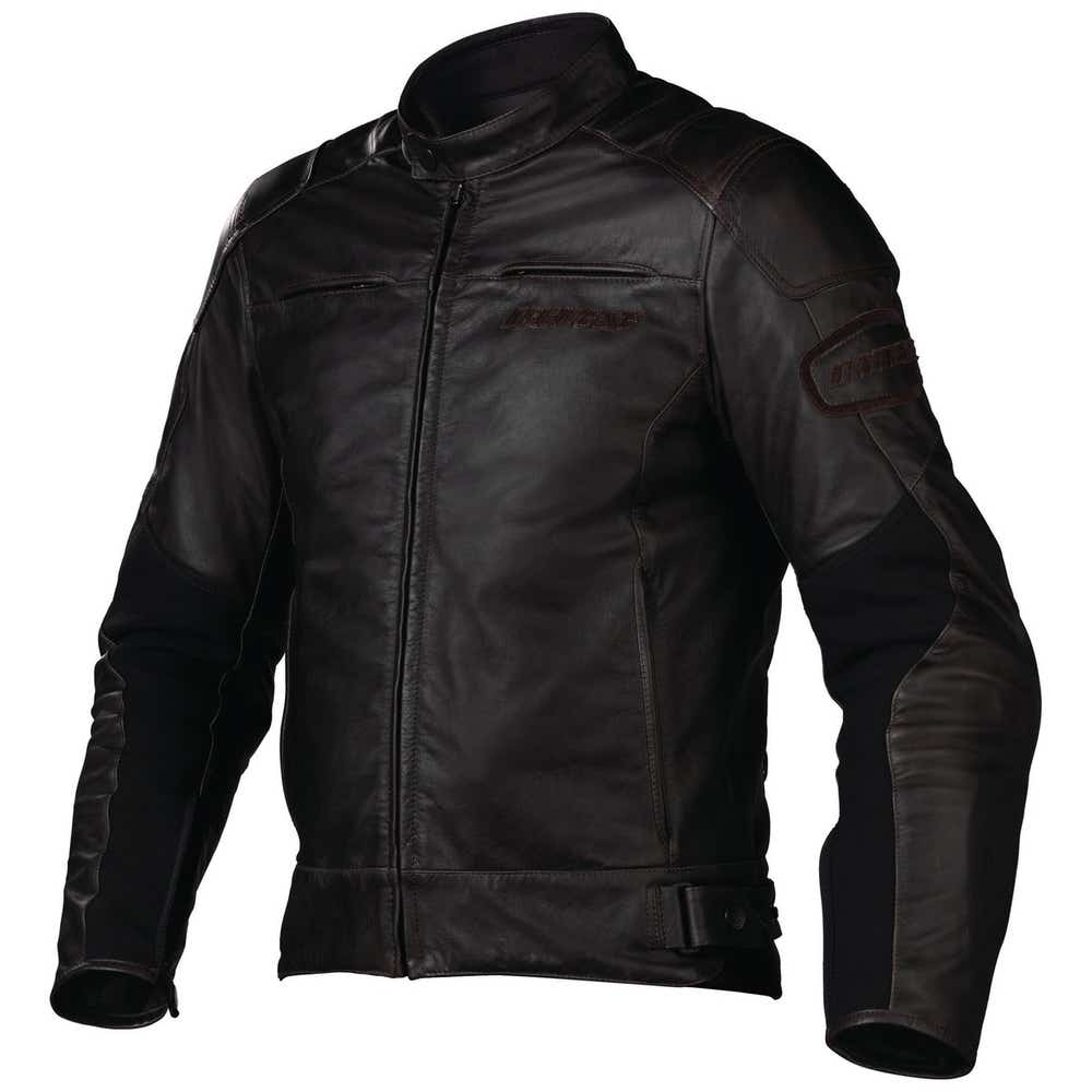 Dainese R-Twin Leather Jacket - Black