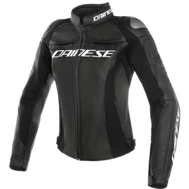 Dainese Ladies' Racing 3 Perforated Leather Jacket