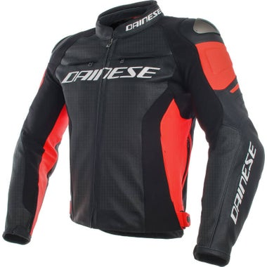 Dainese Racing 3 Perforated Leather Jacket