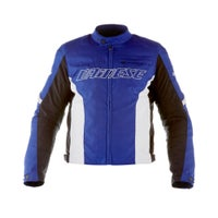 Dainese Racing D-Dry Waterproof Jacket - Blue