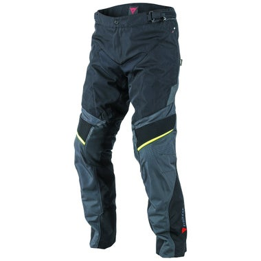 Dainese Ridder D1 Gore-Tex Trousers - Black / Ebony / Fluo Yellow