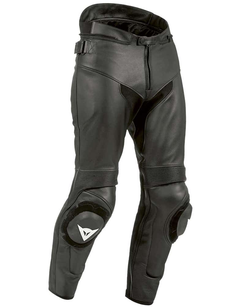 Dainese SF Estivo Leather Trousers - Black