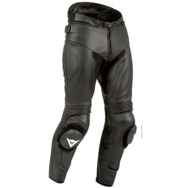 Dainese SF Leather Trousers - Black