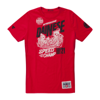 Dainese Speed Champ T-Shirt - Red