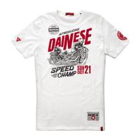 Dainese Speed Champ T-Shirt - White