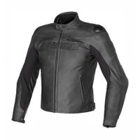 Dainese Speed Naked Leather Jacket - Black