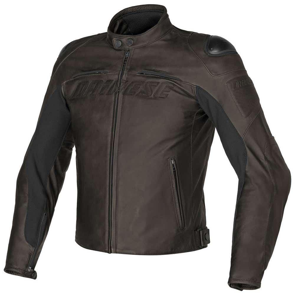Dainese Speed Naked Leather Jacket - Dark Brown