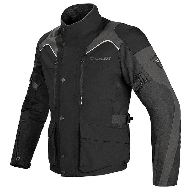 Dainese Tempest D-Dry Waterproof Jacket - Black (Jackets) - Front