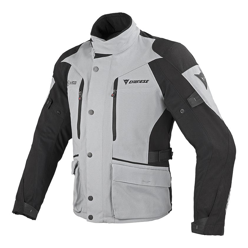 Dainese Temporale D-Dry Waterproof Jacket - High Rise / Black