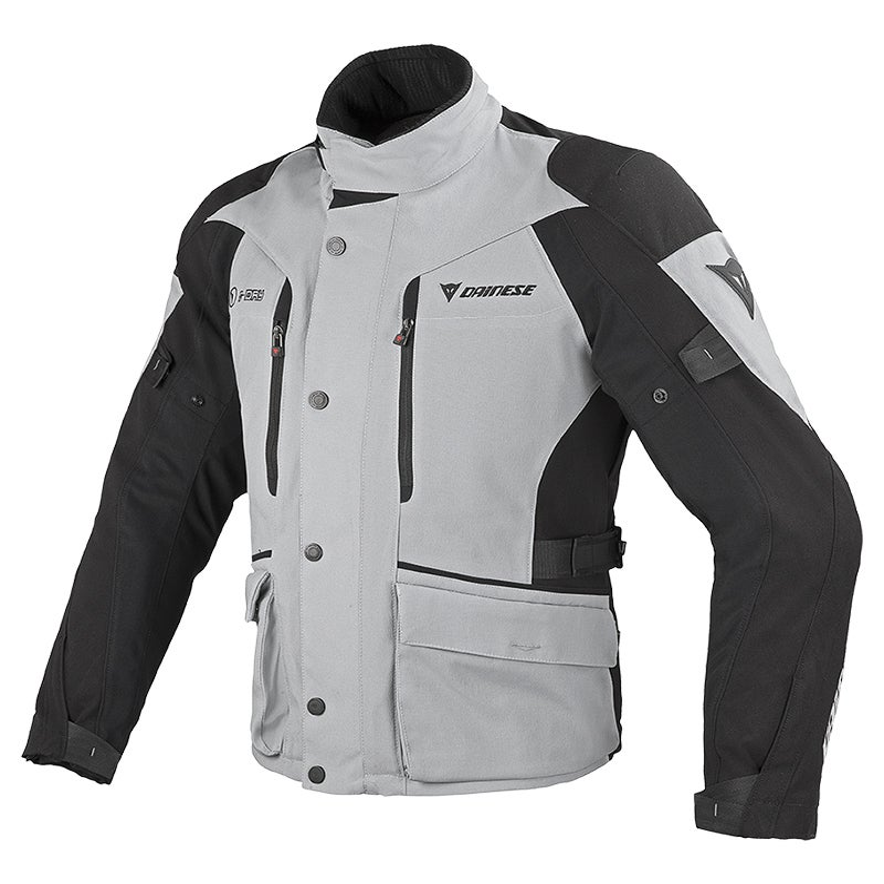 Dainese Temporale D-Dry Waterproof Jacket - High Rise / Black