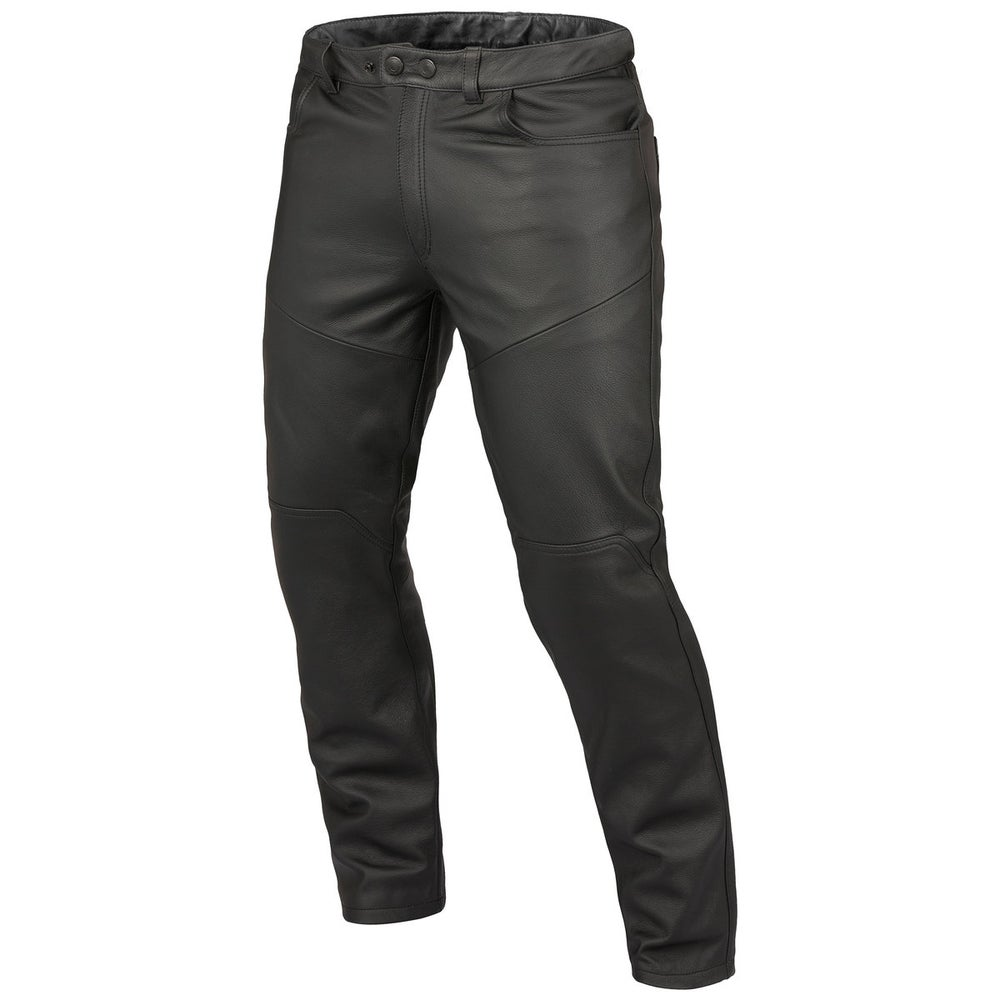 Dainese Trophy Evo Leather Trousers - Black