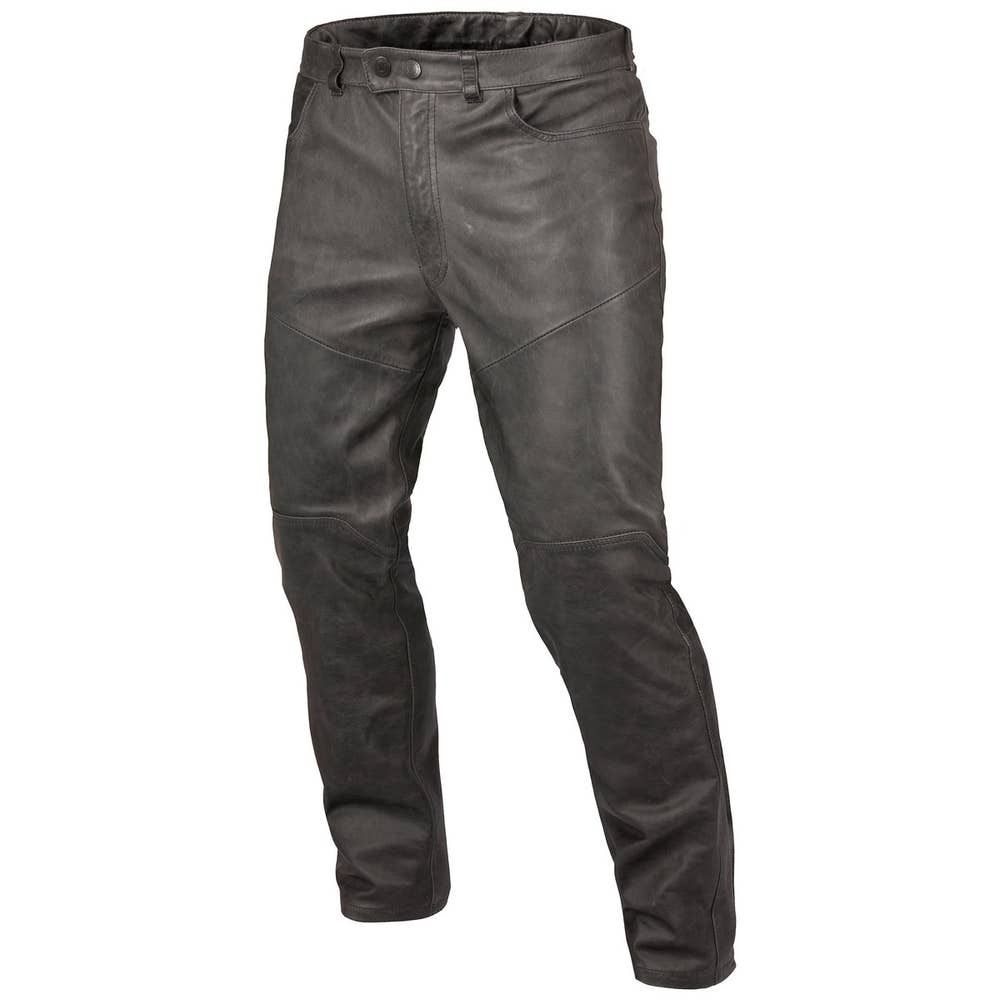 Dainese Trophy Vintage Leather Trousers - Black