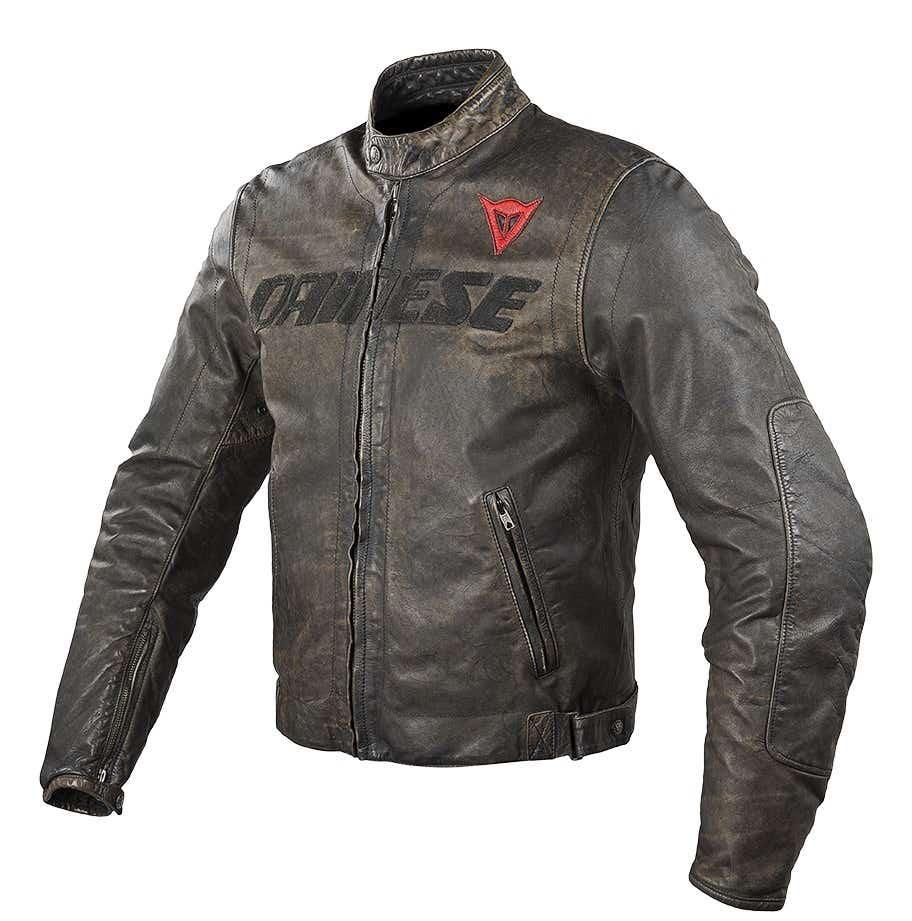 Dainese Vintage Leather Jacket - Black